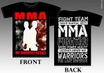 MMA my favorite sport